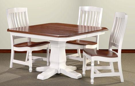 30 Country Mission Pedestal Dining Set