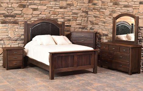 Quincy Barnwood Bedroom Collection