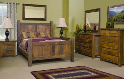 Barnwood Farmhouse Bedroom Set