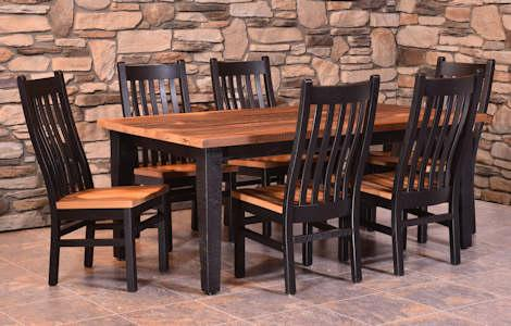 Almanzo Black Dining Set