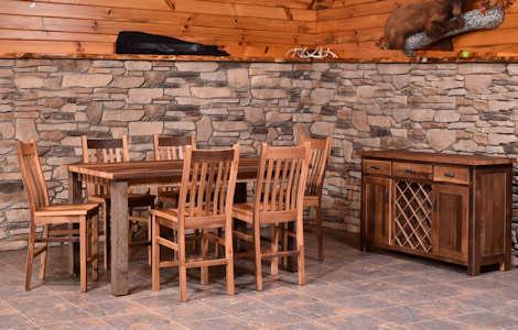 Almanzo Bar Table Collection