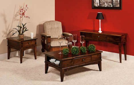 Amarillo Coffee and End Tables