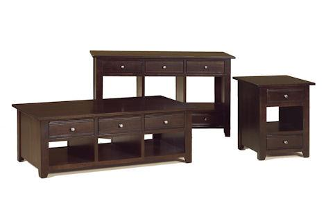Austin Coffe Table, End Table, Sofa Table