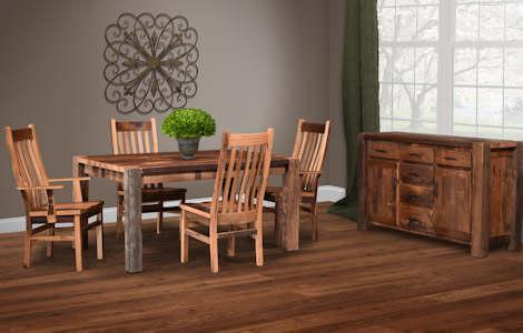 Barnwood Timber Ridge Dining Set