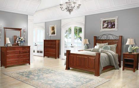 Breckenridge Solid Wood Bedroom Set