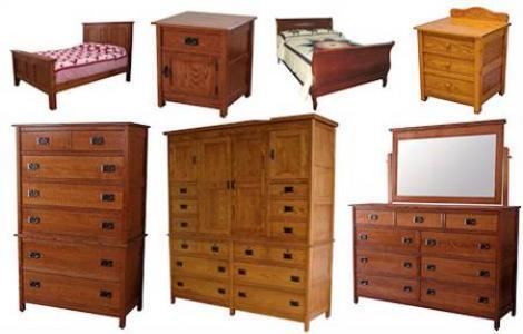 CWF Country Mission Bedroom Set