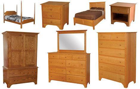 CWF400 Shaker Bedroom Set