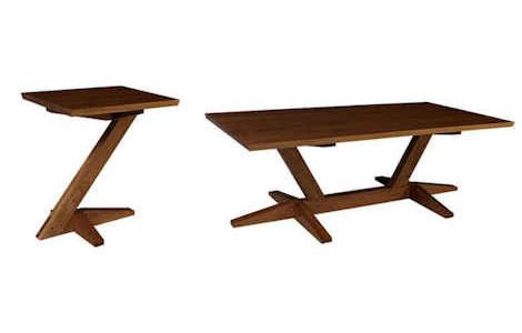 Cantilever Coffee and End Table