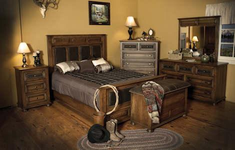 Canyon Creek Rustic Bedroom Collection