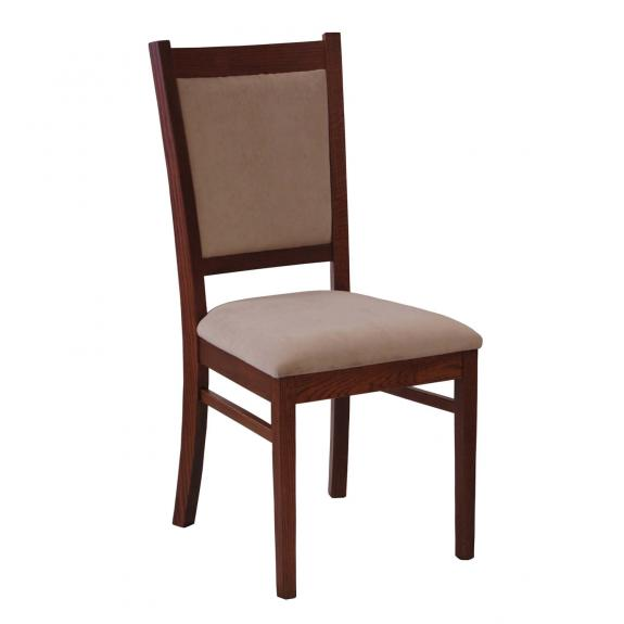 Carla Dining Room Chair with Leather Seat
