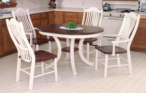 Carlisle Pedestal Dining Set