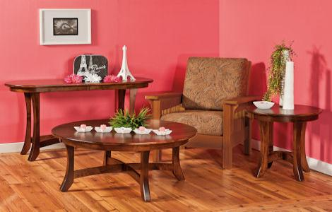 Carona Coffee and End Tables