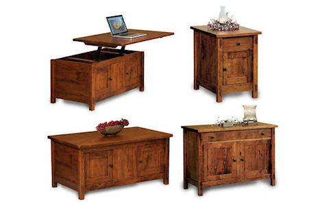 Centennial Enclosed Occasional Tables