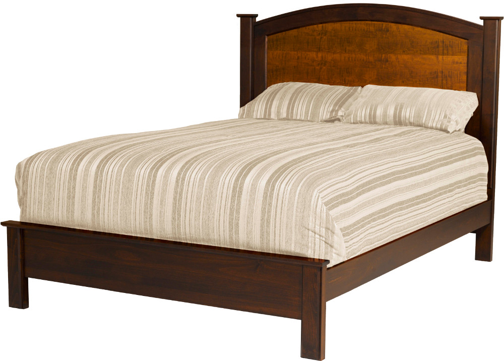 Chesapeaka Bedroom Set Arched Panel Bed