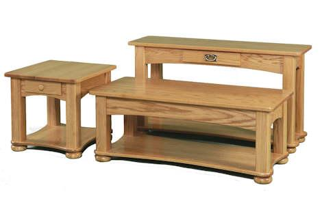 Classic Arch Frame Living Room Tables