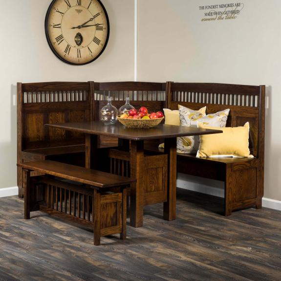 AJW1000DN Classic Mission Dining Nook