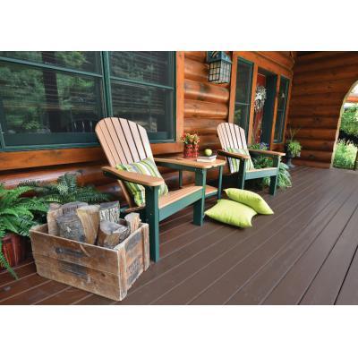 Comfo Back Regular Adirondacks Cedar on Green