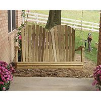 Wood Porch Swings