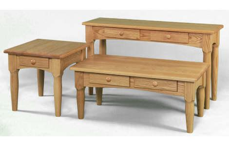 Contemporary Shaker Living Room Tables