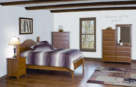 English Shaker Bedroom Set