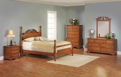 Elegant River Bend Bedroom Set
