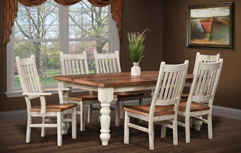 Barnwood Farmhouse Dining Set