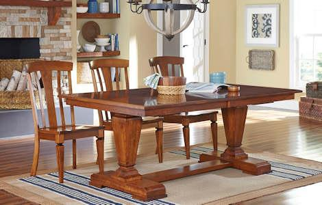 Fulton Trestle Dining Collection