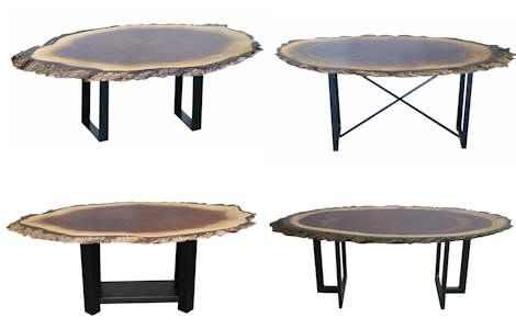 Heritage Live Edge Coffee Tables