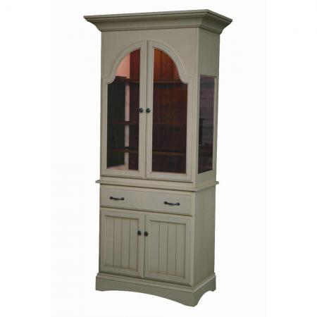 Jefferson City White Dining Room Hutch