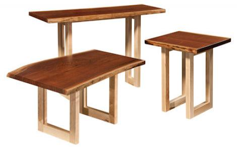 Kalispel Live Edge Coffee and End Tables
