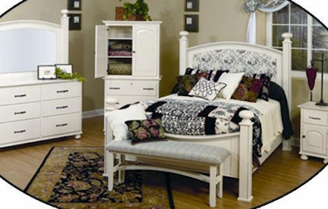 LE White Bedroom Set