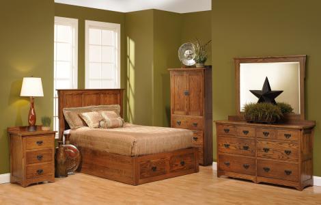 San Juan Mission Bedroom Collection
