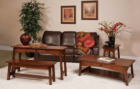 McCoy Open Coffee and End Tables