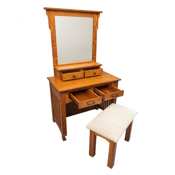 """36"""" Mission Dressing Table"""