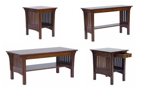 1800 Mission Occasional Tables