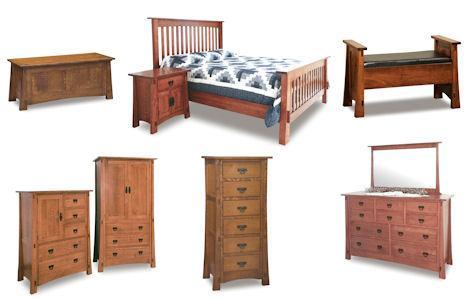 Modesto Bedroom Furniture Set