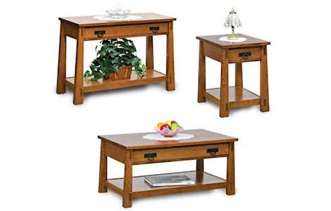 Modesto Open Coffee and End Tables