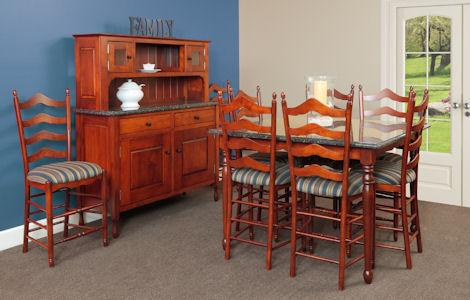 New England Bay Dining Set