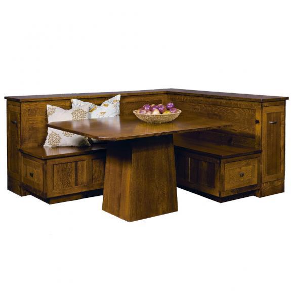 AJW6000 Newport Nook Dining Table Set