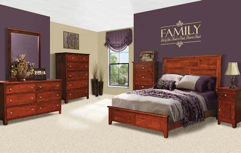 Olde Cottage Shaker Bedroom Set