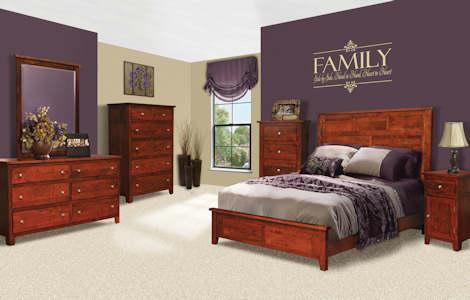 Olde Cottage Shaker Bedroom Set