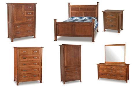 Parker Mission Bedroom Set
