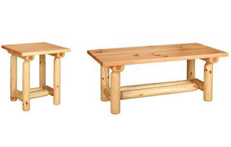 Pine Log Furniture Collection