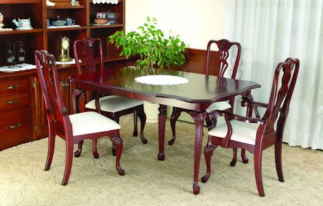 Queen Anne Regal Dining Set
