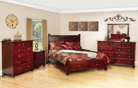 Traditional Bedrooms Archives | Clear Creek Amish Furniture ...