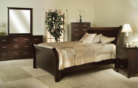 Riverview Mission Bedroom Set
