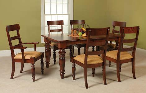 Shreveport High Back Dining Set