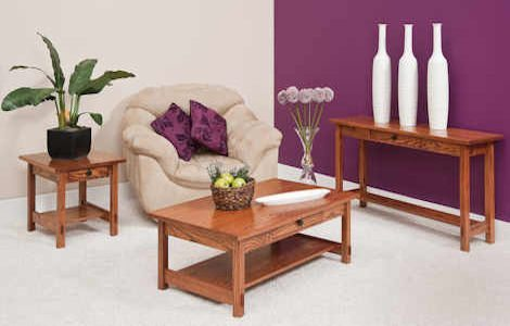 Springhill Open Coffee and End Tables