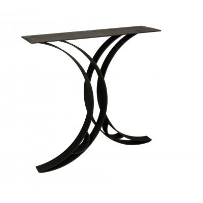 Steel Double Curved Dining Base