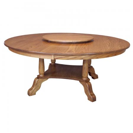 S-04 Traditional Large Dining Room Table